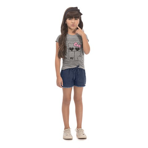 Blusa Hello Kitty Infantil 87971 0037 1218