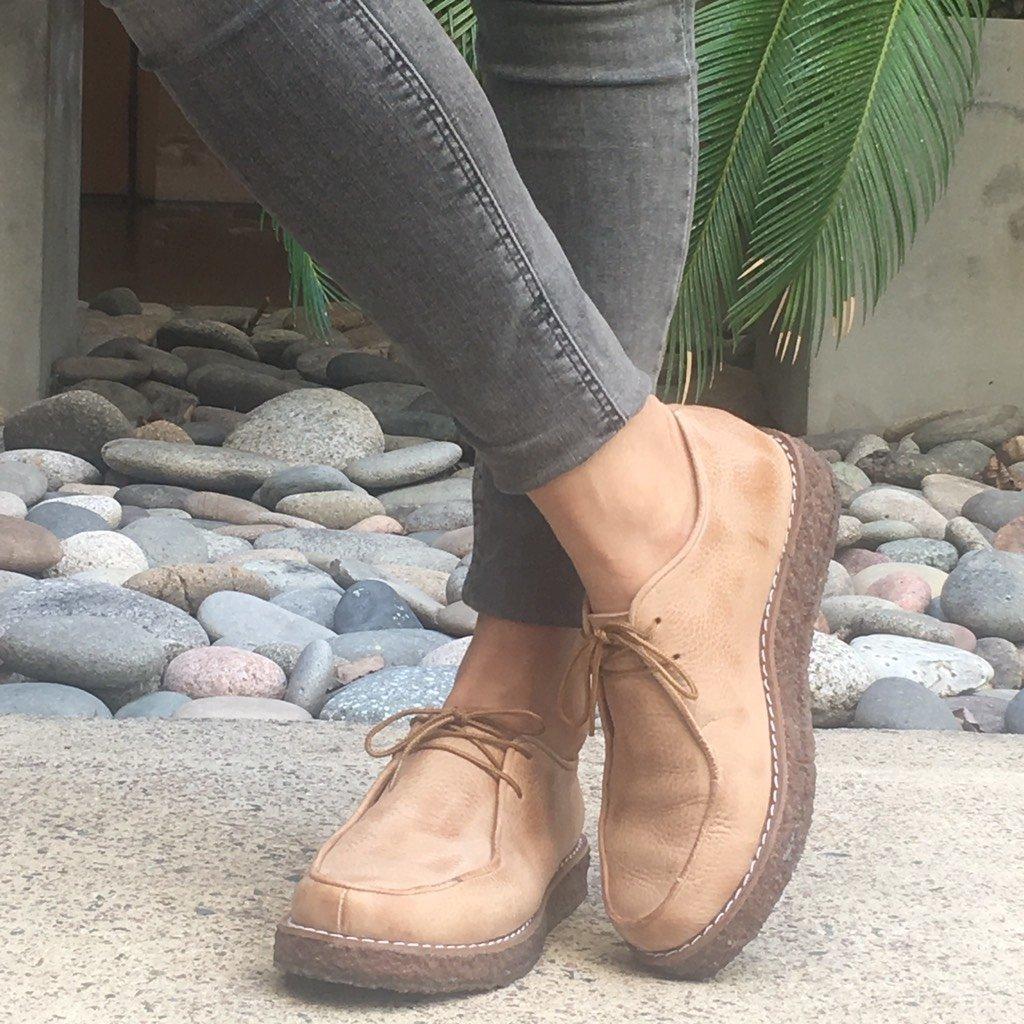 0a34381cd66 Mocasín NANI en cuero Brandy - Comprar en Vikki Shoes