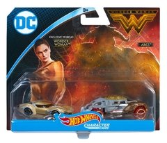 Wonder Woman vs Ares - Carrinho - Hot Wheels - DC Comics - 2 Pack