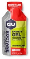 GU ROCTANE Energy Gel - 1 sachê - Cherry Lime