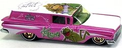 59 Chevy Delivery - Carrinho - Hot Wheels - Disney - The Muppets - Real Riders - 2012