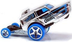 HW Poppa Wheelie - Carrinho - Hot Wheels - SUPER CHROMES - 43/250 - 2015 - N5RUO