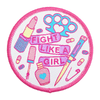 Patch Bordado - Fight like a girl