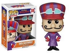 Dick Vigarista - Dick Dastardly - Funko Pop Animation - Hanna Barbera - Wacky Races - 38