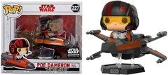Poe Dameron with X-Wing - Funko Pop Rides - Star Wars - 227 - Smugglers Bounty Exclusive