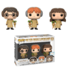 Harry Potter, Ron Weasley e Hermione Granger - Funko Pop - 3 pack - Barnes and Noble Exclusive