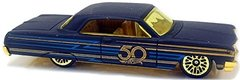 64 Impala - Carrinho - Hot Wheels - 50th Aniversary