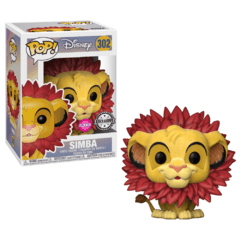 Simba - Funko Pop - Disney - Lion King - 302 - Flocked - EE Exclusive