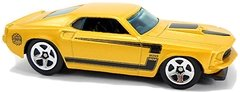 69 Ford Mustang - Carrinho - Hot Wheels - LARRY WOOD - 1969 a 2019