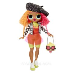 LOL Surprise! OMG Neonlicious Fashion Doll com 20 Surpresas