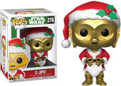 C-3PO - Pop! Star Wars - Natal - Funko - 276