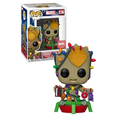 Groot (Holiday) - Funko - Marvel - 536 - Collector Corps Exclusive