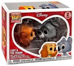 Dama e o Vagabundo - Chaveiro Pop! Disney - Lady & The Tramp - Funko