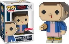 Eleven with Eggos - Pop! 8-BIT - Stranger Things - 16 - Funko - Target Exclusive