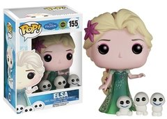 Elsa - Pop! - Disney - Frozen Fever - 155 - Funko - VAULTED