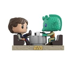 Han Solo e Greedo - Pop! Movie Moments - Funko - 223 - Star Wars - Cantina Faceoff - comprar online