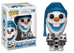 Olaf with Kittens - Pop! - Disney - Frozen - 338 - Funko