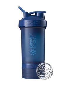 Blender Prostak FullColor - Blender Bottle - 450ml - Azul Marinho Navy