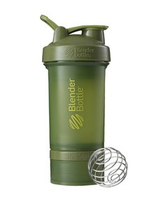 Blender Prostak FullColor - Blender Bottle - 450ml - Verde Militar