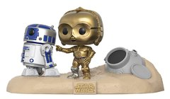 R2-D2 e C3PO - Pop! Movie Moments - Funko - 222 - Star Wars - Escape Pod Landing - comprar online
