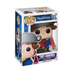 Toby Armored with Gnome - Pop ! Television - TrollHunters - 473 - Funko - comprar online