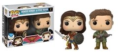 Wonder Woman & Steve Trevor - Pop! - Funko - FYE Exclusive - 2 Pack
