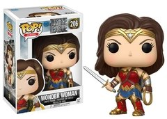 Wonder Woman - Pop! Heroes - Justice League - 206 - Funko