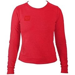 BUZO ARENA W ESSENTIAL CREW SWEAT DAMA FLUO RED (470)