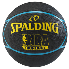 Pelota De Basquet Spalding Nba Highlight Neon Nº 7
