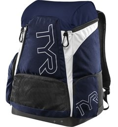 TYR MOCHILA ALLIANCE BACK PACK 45 LITROS NAVY WHITE