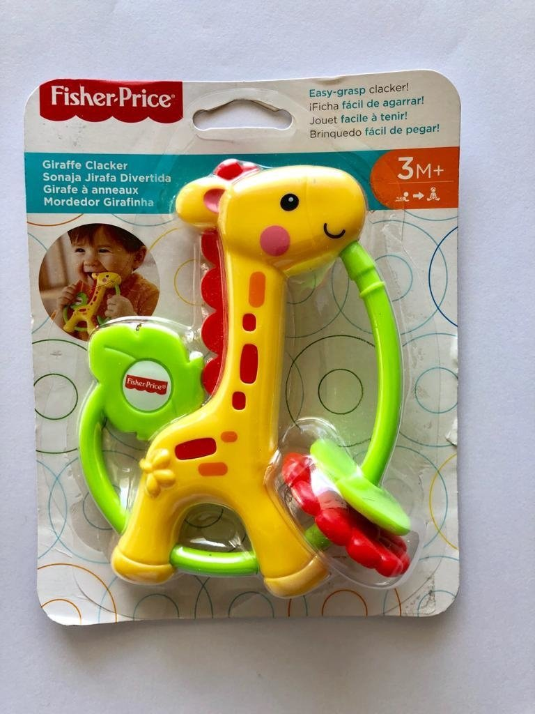 Fisher-Price Giraffe Clacker