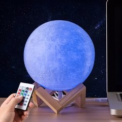 Lámpara en forma de luna / Moon Light 3D - Ananda