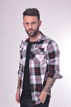 Camisa Scottish Line Roja