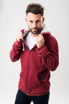 Campera Witness Bordo