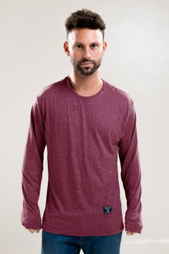 Remera London Bordo
