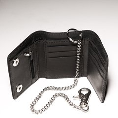 Billetera Chain black en internet