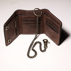 Billetera Chain brown - comprar online