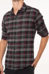Camisa Scottish Negra