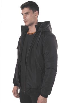 Campera Bomber Apollo Negra