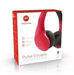 Auricular Bluetooth Motorola Moto Pulse Escape Original rojo