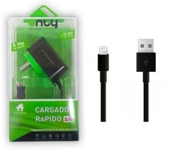 CARGADOR RAPIDO PARA CELULAR 2A ONLY IPHONE 7/8