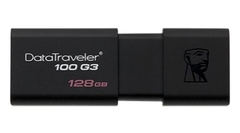 PEN DRIVE  128 GB USB Kingston DataTraveler 100 G3 - comprar online