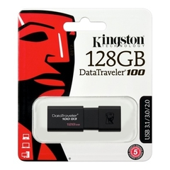 PEN DRIVE  128 GB USB Kingston DataTraveler 100 G3