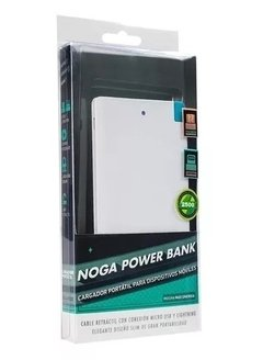 Cargador Portatil Celular Powerbank Noga Pb25 compatible Iphone - comprar online