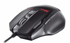Mouse Trust Gxt 25 Gaming 7 Botones 2000 Dpi