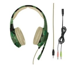 Auricular Trust Gxt 310 Radius Gaming Headset Camo Pc Ps4 Xbox - comprar online