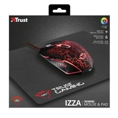 Mouse Pc Gamer Trust Gxt 783 + Pad Mouse Combo - comprar online