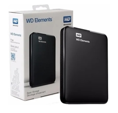 Disco Hd Externo Wd Elements 2tb Usb 3.0 - comprar online
