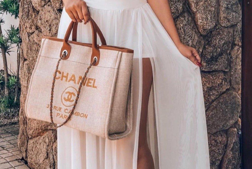 342afd156 Bolsa Chanel Deauville - Comprar em Borro Store