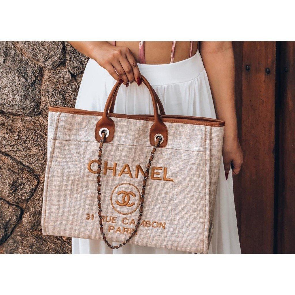 176cf2b995b58d Bolsa Chanel Deauville - Comprar em Borro Store